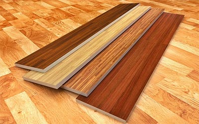 Engineered Wood Flooring of Interior Concept