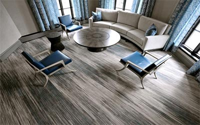 Innovative Carpet Flooring of Interior Concept