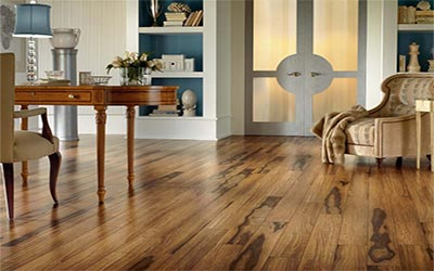 Sturdy Hardwood Flooring of Interior Concept