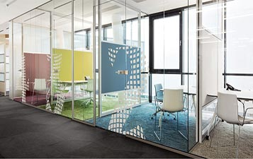 Colorful Glass Of Interior Concept